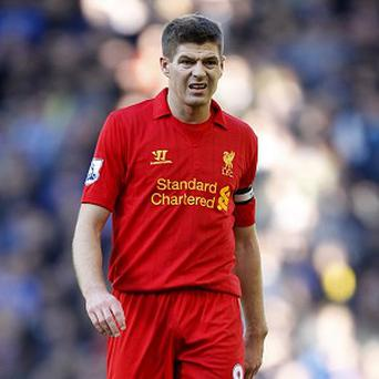 Steven Gerrard will miss the rest of the season