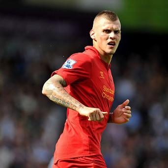 Centre-back: Martin Skrtel (Liverpool) 34 blocks - Liverpool's craggy central defender has made the headlines with his goalscoring prowess, but he does the dirty jobs, too. No defender has made more blocks this season.