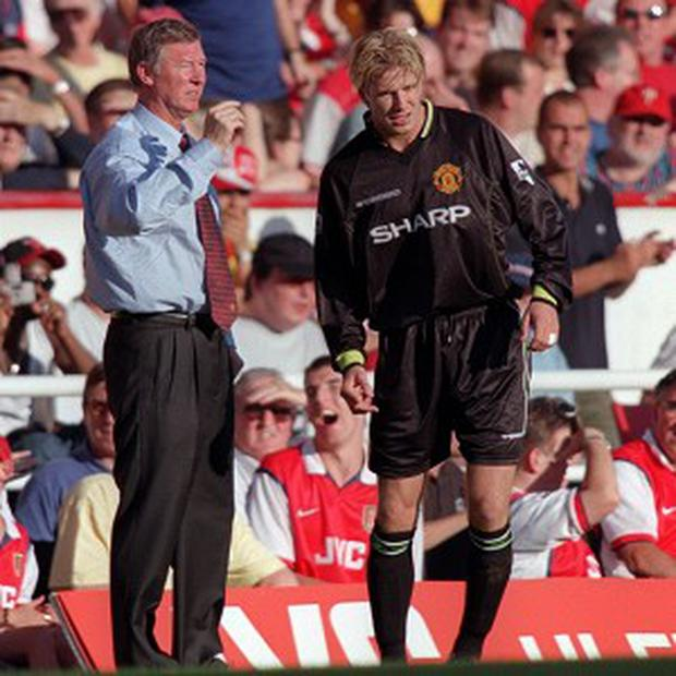 David Beckham, right, said Sir Alex Ferguson's protective influence had been vital in his early career