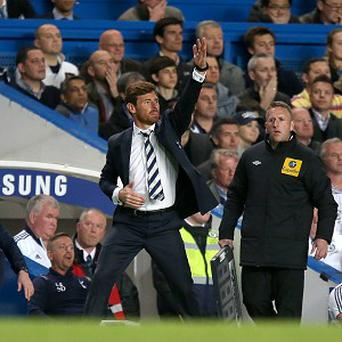 Andre Villas-Boas' Tottenham are one point behind Arsenal and three behind Chelsea