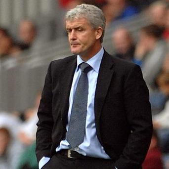 Mark Hughes stopped short of directly throwing his hat into the ring for a vacancy that is not yet open