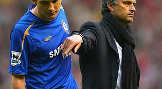 Jose Mourinho, right, enjoyed a highly successful three years at the Stamford Bridge helm