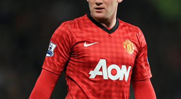 Wayne Rooney has had a transfer request rejected by Manchester United