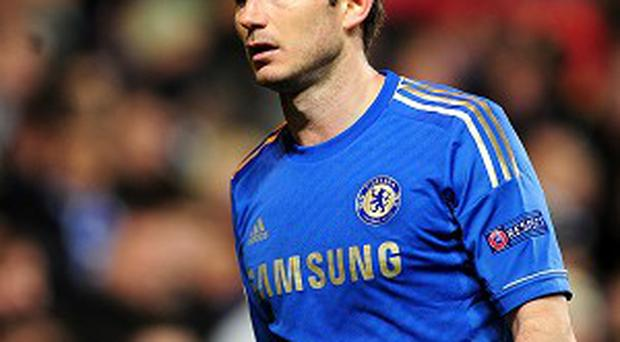 Frank Lampard, pictured, has been given no promises about whether he will line up for the Europa League final