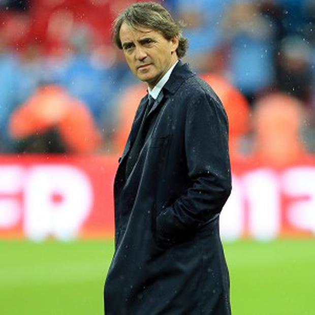 Manchester City boss Roberto Mancini is reportedly close to the sack