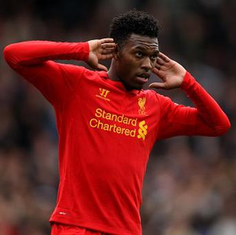 Daniel Sturridge scored a hat-trick as Liverpool beat Fulham