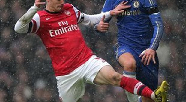 Chelsea and Arsenal could be forced to contest a play-off for the automatic Champions League qualification spot if they cannot be separated