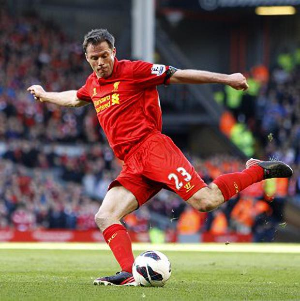 Jamie Carragher will play his 737th and final match for Liverpool at Anfield on Sunday