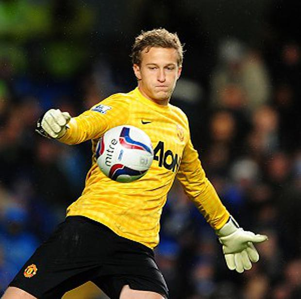 Anders Lindegaard will make his 10th Barclays Premier League start this season for Manchester United this weekend