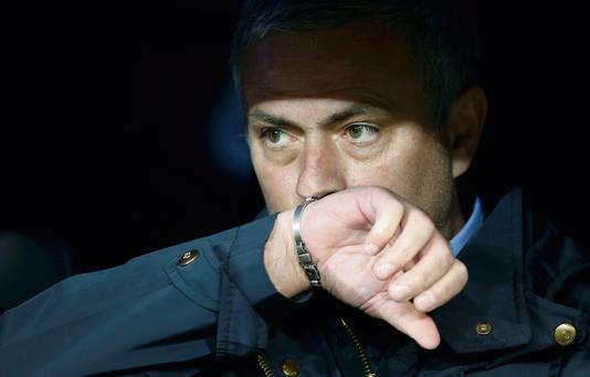 Jose Mourinho's departure was confirmed yesterday at a press conference held by Real Madrid's president Florentino Perez