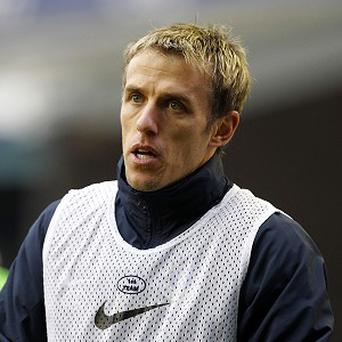 Phil Neville has been linked with the Everton job