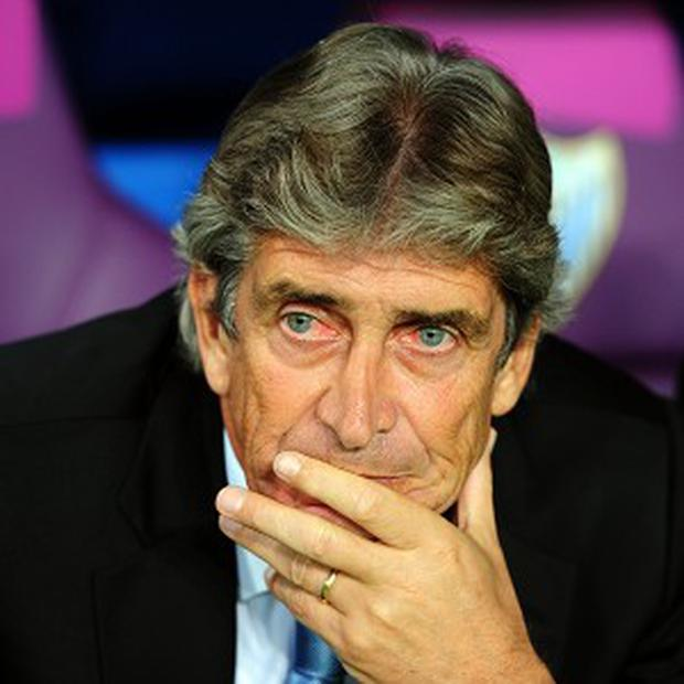 Manuel Pellegrini said he is leaving Malaga 'for sporting reasons'