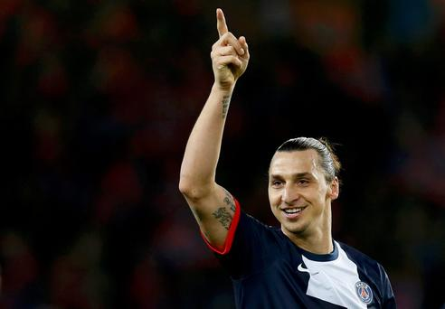 Worryingly for Ireland, Zlatan Ibrahimovic hit a hat-trick against Norway last night