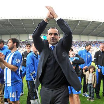 David Whelan says Roberto Martinez, pictured, will decide his future on Thursday