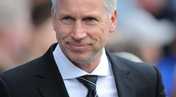 Alan Pardew's Newcastle squad was left depleted this season