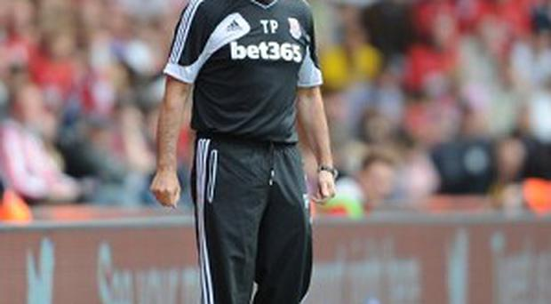 Tony Pulis, pictured, still holds Stoke chairman Peter Coates in high regard