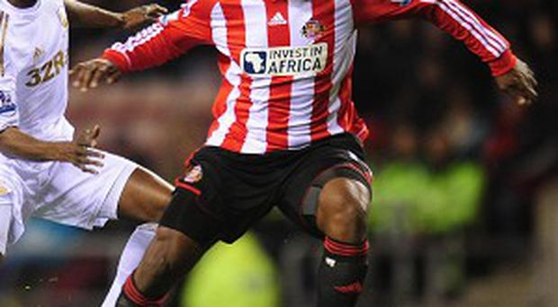Titus Bramble, right, made 51 appearances for the Black Cats