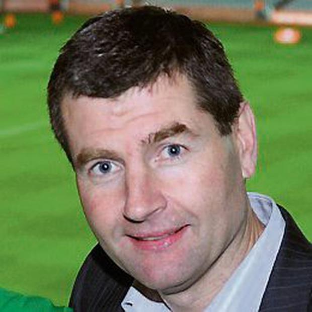 Former Irish International soccer player Denis Irwin