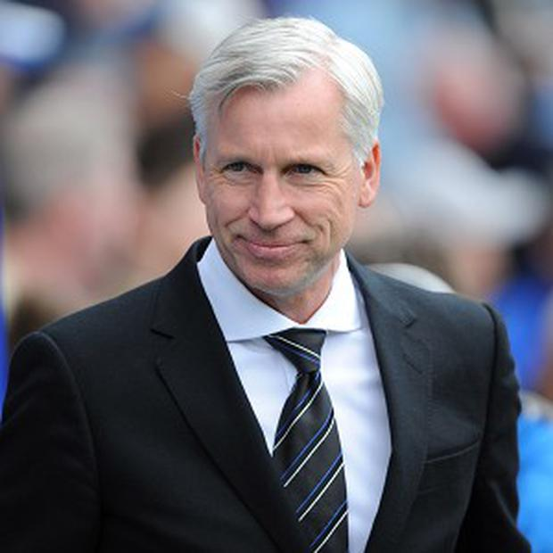 Alan Pardew appears to be a divisive figure amongst some Newcastle fans