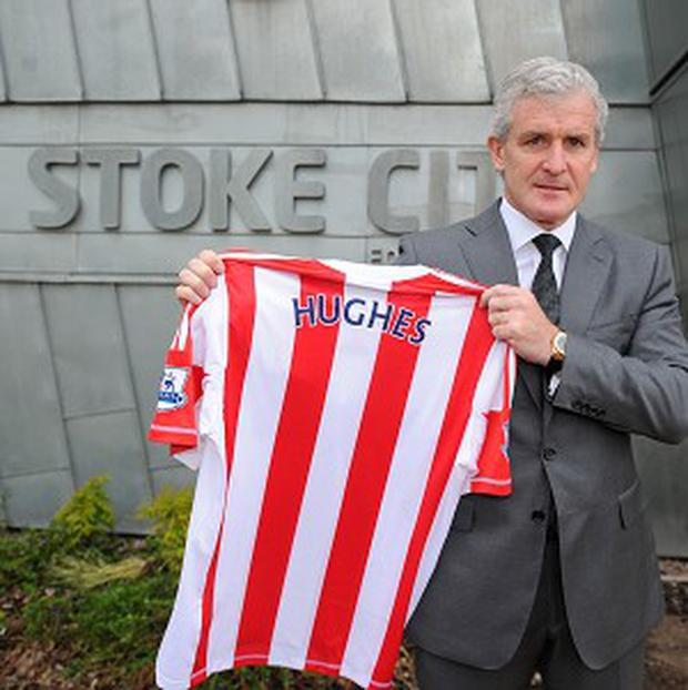 Mark Hughes has signed a three-year deal to manage Stoke