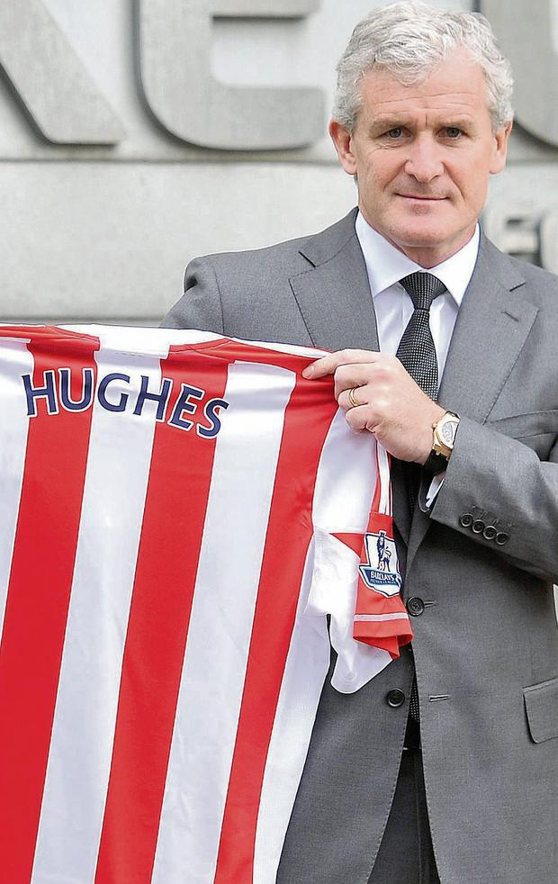 Mark Hughes is determined to prove his worth by improving Stoke's fortunes