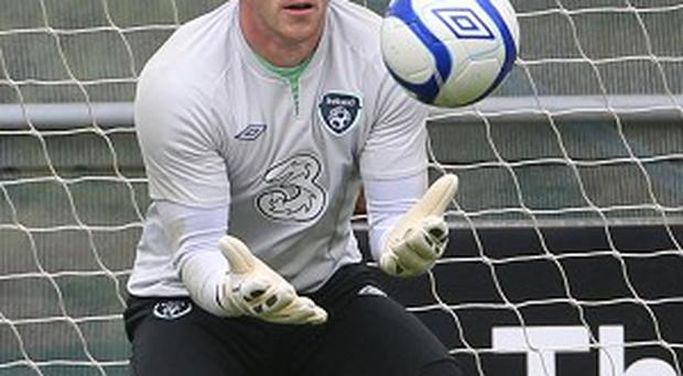 Keiren Westwood is the number two keeper for both club and country