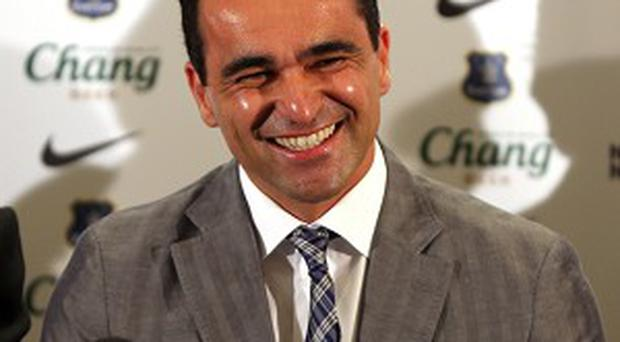 Roberto Martinez is delighted to be the new Everton boss