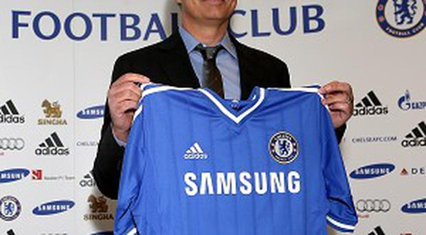 Jose Mourinho has signed a four-year deal at Chelsea