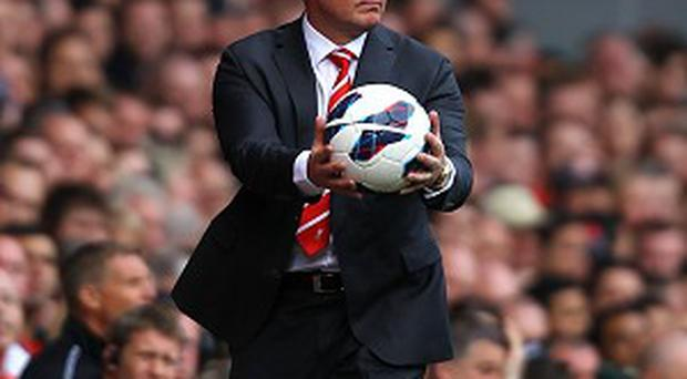 Brendan Rodgers, pictured, is hopeful of adding Iago Aspas to his forward line at Anfield