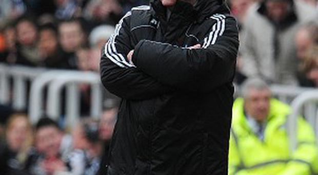 Joe Kinnear's, pictured, announcement has question marks over Alan Pardew's future