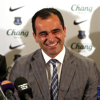Roberto Martinez is eyeing up potential new signings for Everton in Brazil