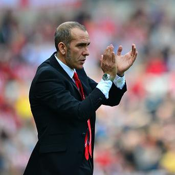 Paolo Di Canio, pictured, has added David Moberg Karlsson to Sunderland's development squad