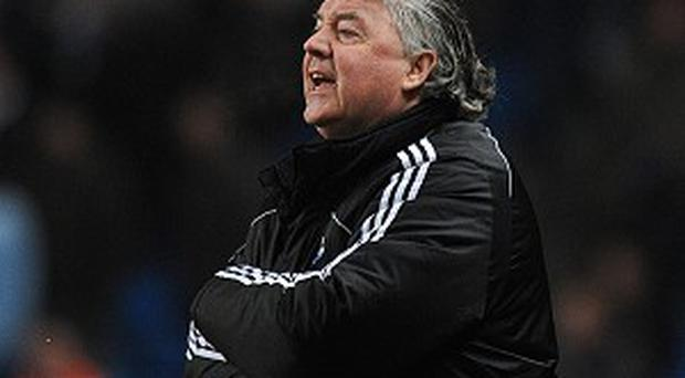 Joe Kinnear, pictured, has criticised Newcastle hero Alan Shearer
