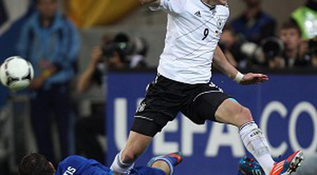 Andre Schurrle, right, has scored seven goals in 24 appearances for Germany