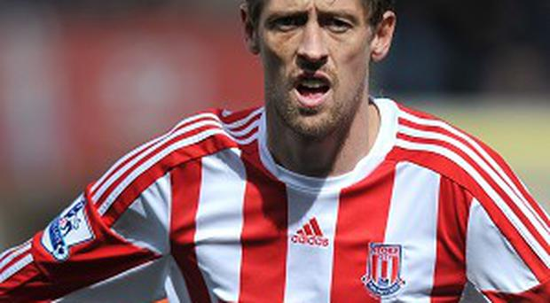 Peter Crouch refused to rule out a move away from Stoke this summer