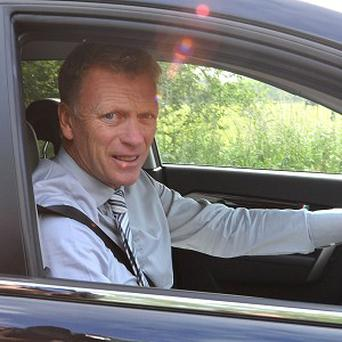 David Moyes officially started work at Manchester United on Monday