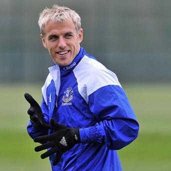 Phil Neville won several trophies during his time as a player at Manchester United