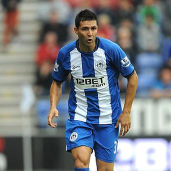 Antolin Alcaraz has become Roberto Martinez's second signing