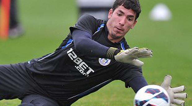 Joel Robles, pictured, is looking to challenge Tim Howard