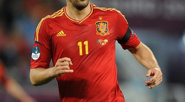 Alvaro Negredo is poised to link up with former Sevilla team-mate Jesus Navas at Manchester City