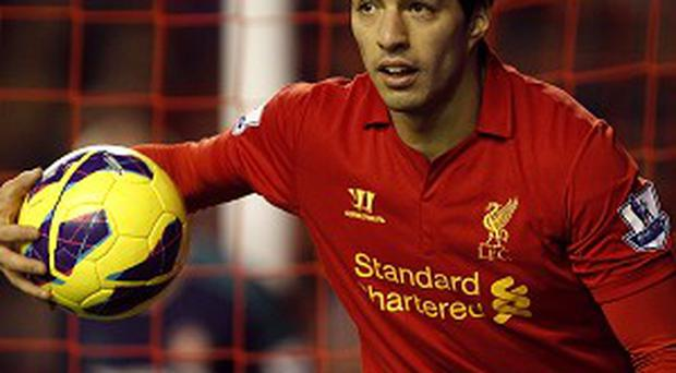 Luis Suarez scored 30 goals for Liverpool last season