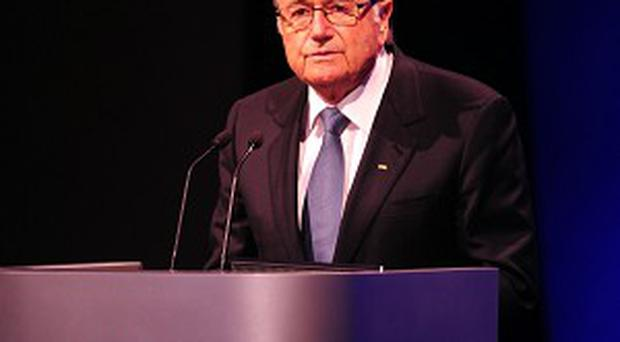 Sepp Blatter is keen for the 2022 World Cup in Qatar to be staged in winter