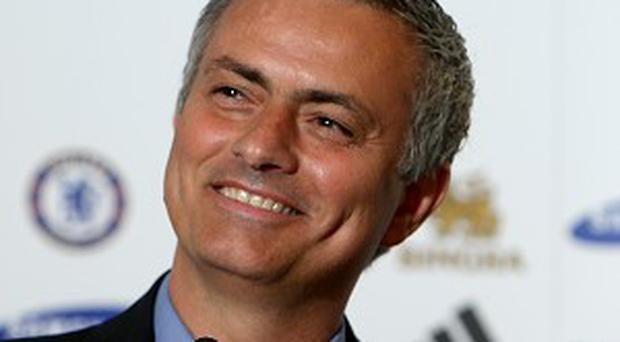 Jose Mourinho, pictured, was full of praise for David Moyes