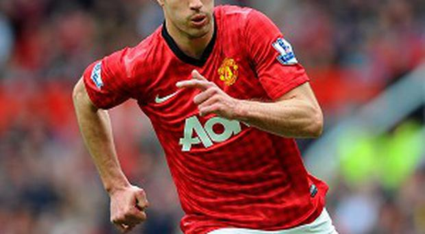 Robin van Persie had the final say as Manchester United bagged their first win under David Moyes