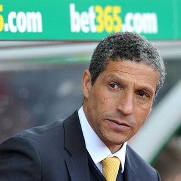 Chris Hughton insists there were 'a lot of pluses' to Norwich's loss to San Jose