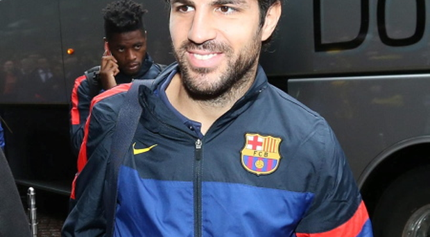 Barcelona's Cesc Fabregas. Picture credit: Andrew Milligan/PA Wire.