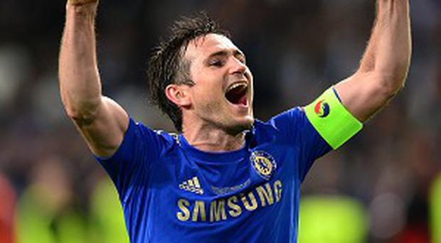 Frank Lampard signed a new contract at Chelsea earlier this summer