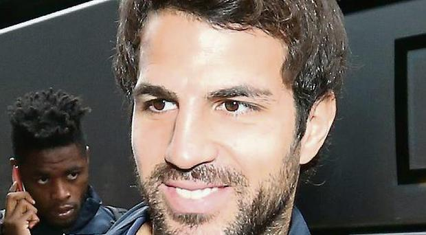 Fabregas: In demand from United