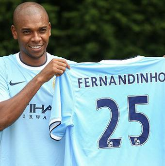 Fernandinho left Shakhtar Donetsk in a deal estimated to be worth £30million