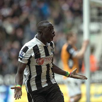 Papiss Cisse is set to return to action for Newcastle
